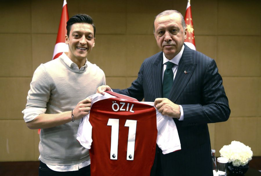 ozil erdogan