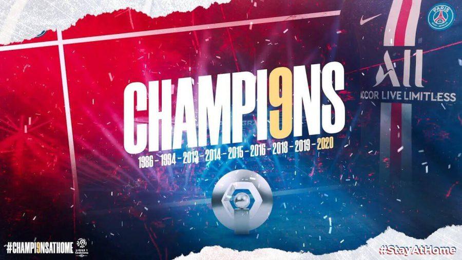 PSG campione 2020