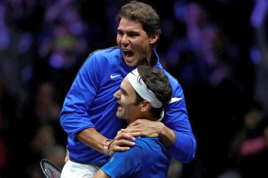 L'Abbraccio Federer Nadal
