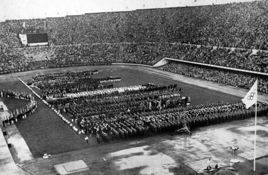 La cerimonia d'apertura delle Olimpiadi