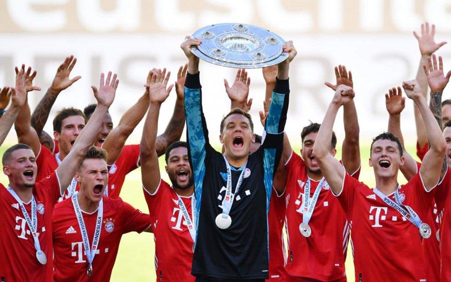 Bayern Monaco campione di Germania