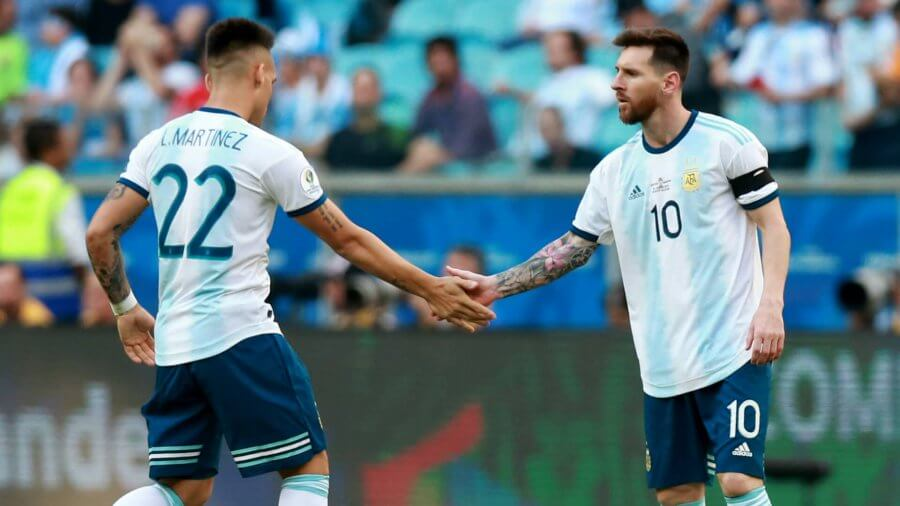 lautaro martinez messi