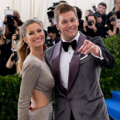 1. Tom Brady e Gisele Bündchen