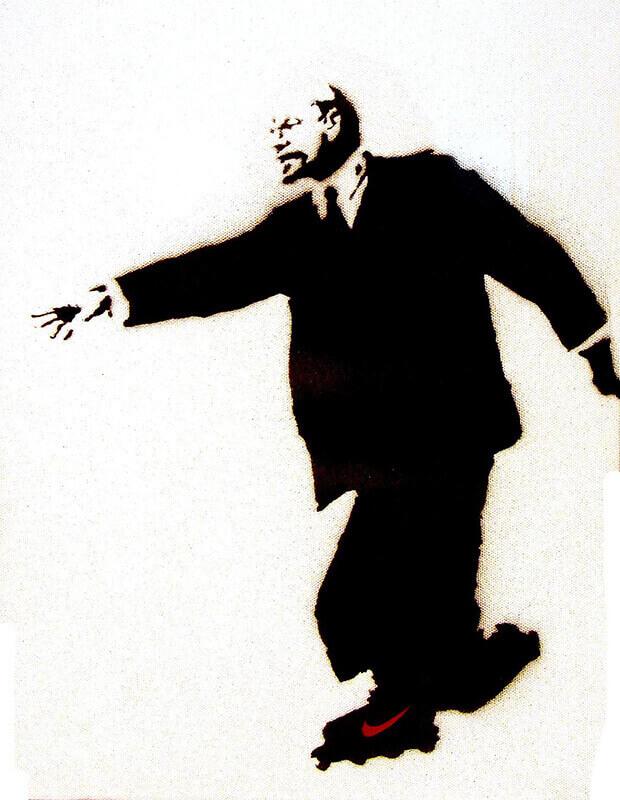Lenin Banksy