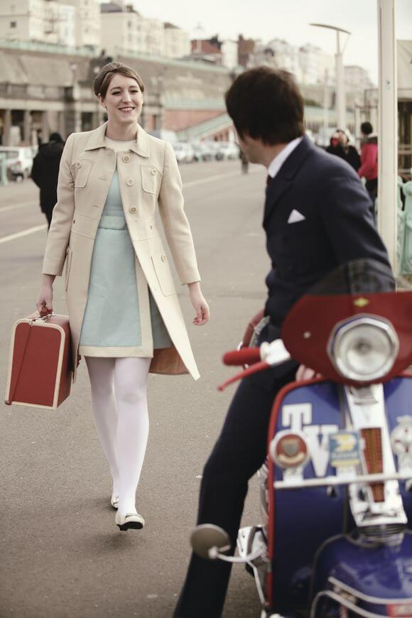 Brighton Rock _ A 60's Chic Engagement Shoot… _ Love My Dress® UK Wedding Blog Wedding Directory