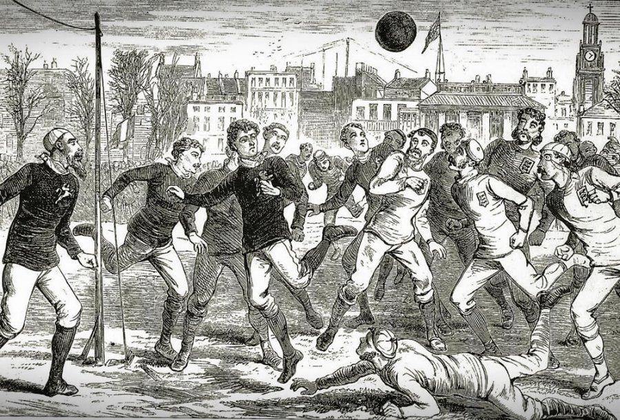origini calcio inglese