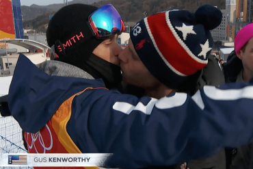 Gus Kenworthy bacio
